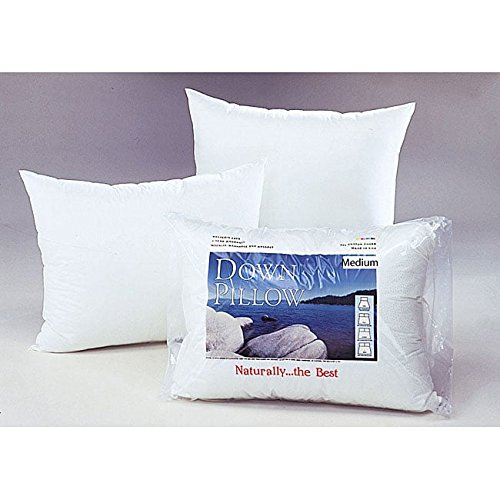White Cloud Medium Density Down Pillow King