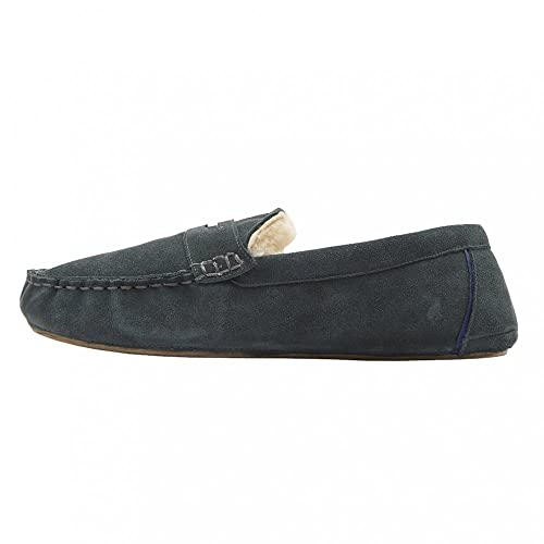 451b86b27412 Joules Men s Suede Moccasin Slipper Low-Top  Amazon.co.uk  Shoes   Bags