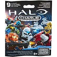 Mega Bloks Halo Charlie Series Mystery Pack CNC84-(Includes 1, styles vary)