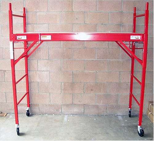 Industrial Mobile Stackable Scaffolding Scaffold - 1000 Lb Load Capacity