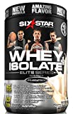 Six Star Pro Nutrition Elite Series 100% Whey Isolate Protein Powder 1.50 lbs, French Vanilla US(Packaging may vary)