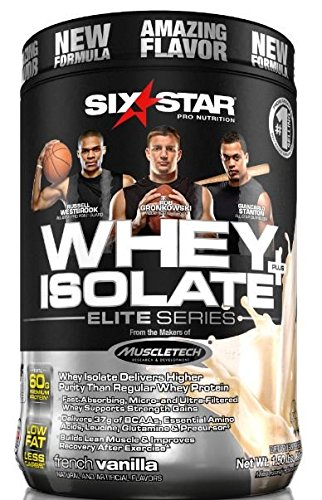 Six Star Pro Nutrition Elite Series 100% Whey Isolate Protei