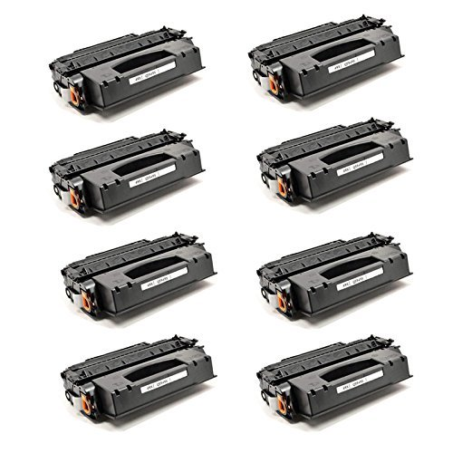 Office Station @ Compatible for HP Q5949X High-Yield Toner Cartridge for LaserJet 1320, 1320n, 1320nw, 1320t, 1320tn, 3390 & 3392 Printers (8 ()
