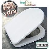 Sedile tavoletta per wc YDRA Pozzi Ginori - ACB linea GOLD