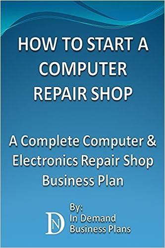Computer repair business plan