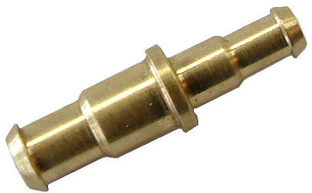 5 Stü ck gerade Schlauchverbindung - reduziert - fü r Schlauch LW 3x2- aus Messing Schlauchverbinder