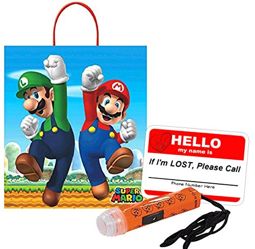 Nintendo Super Mario Brothers Happy Halloween Trick Treat