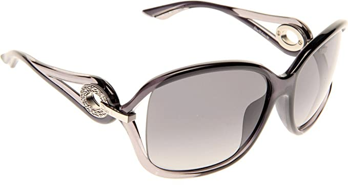 9b3af8f83c2f1 Image Unavailable. Image not available for. Colour  Dior 37772 11S Black  Grey Volute 2 Square Sunglasses ...