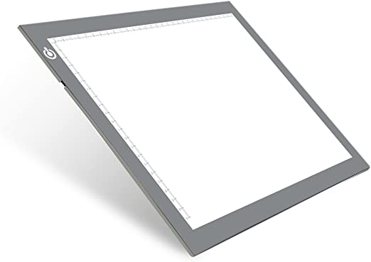 Mesa de Luz Dibujo, LED Tracing Light Pad, A4 Tableta de Luz ...