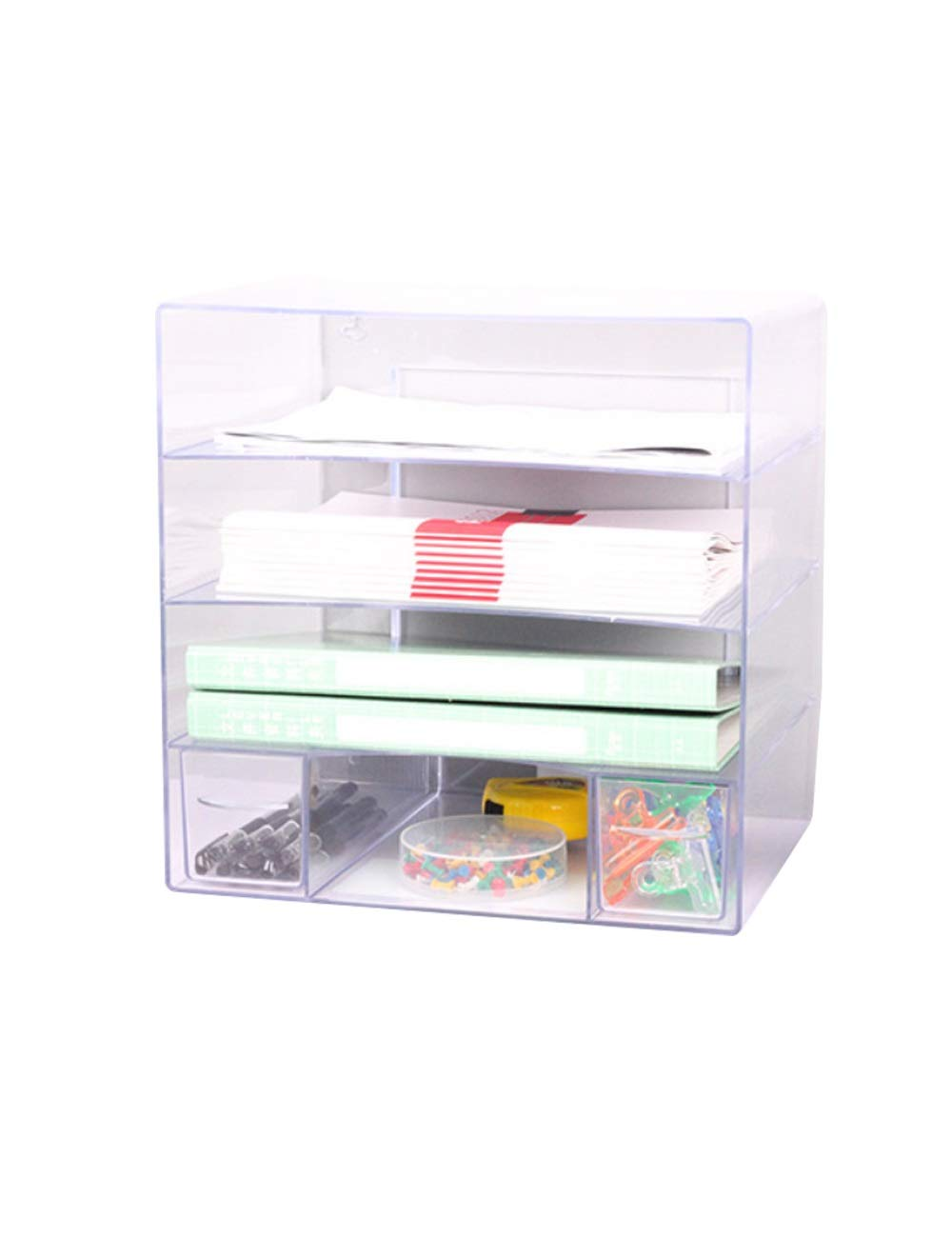 File Cabinet Office Desktop Cabinet 3 Drawers 25cm34cm34cm Plastic Safety Cabinet File Storage Cabinet Storage Box File Holder Filing cabinets