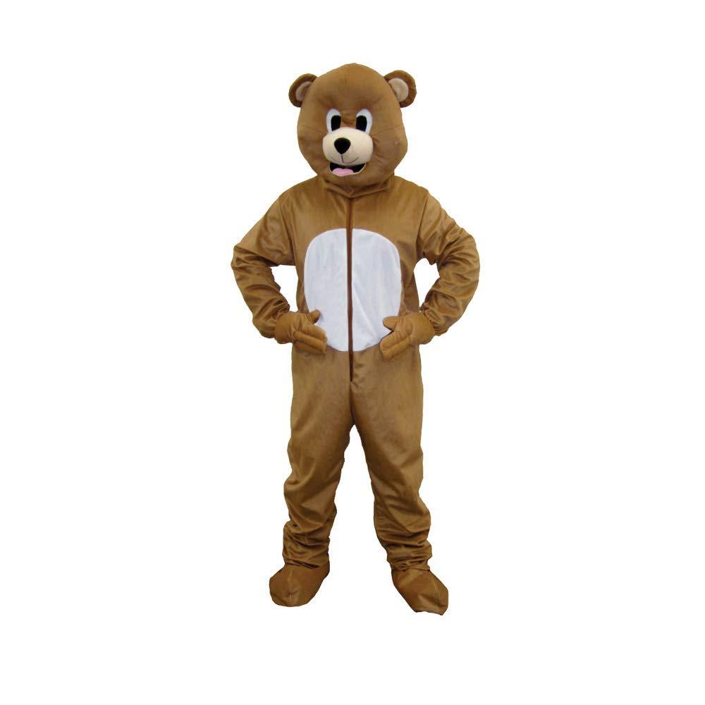 Amazon.com: Disfraz de oso mascota marca Dress Up America ...
