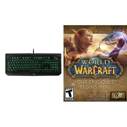World of Warcraft - PC/Mac [Digital Code] and Keyboard Bundle