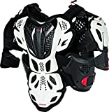Alpinestars A-10 Full Men's Chest Protector Off-Road Body Armor - White/Black/Red/X-Large/2X-Large