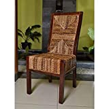 International Caravan SG-3306-2CH-IC Furniture Piece Set of Two Dallas Abaca Weave Dining Chair Review