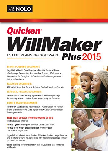 Quicken WillMaker Plus 2015