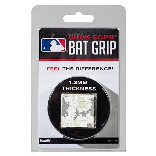 Franklin Sports Shok-Sorb Bat Grip-Camo/White