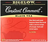 Bigelow Constant Comment Tea, 40 Bags (Pack of 6), Spiced Premium Black Tea with Orange Peel, Antioxidant-Rich Full Caffeine Black Tea in Foil-Wrapped Bags