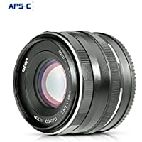 Meike 50mm F2.0 Large Aperture Manual Focus Fixed Lens for FujiFilm X-mount X-T2 X-A1 X-A2 X-E1 X-Pro1 X-Pro2