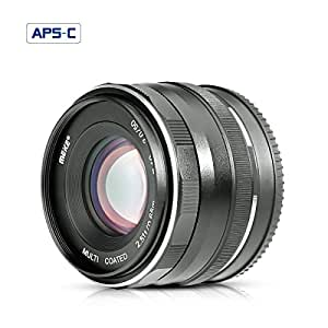 Meike 50mm F2.0 Grande de Apertura Objetivo Cámara Réflex Enfoque ...