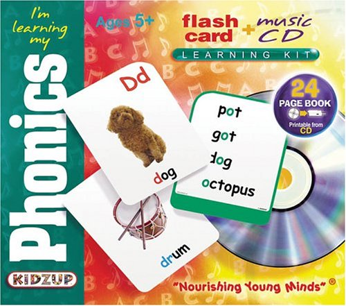 Amazon.com: I'm Learning My Phonics (Flash Card + Music CD ...