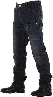 Overlap Sturgis Jeans Uomo, Grigio/Blu, Taglia 38