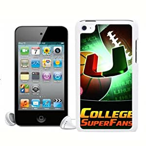 SevenArc NCAA Miami (FL) Hurricanes For Ipod Touch 4 Case Cover 2014 Style
