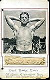 Dutch Clark 1937 Jsa Authenticated Autograph
