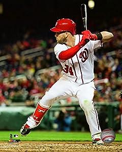 Washington Nationals Bryce Harper 8x10 Action Photo Picture