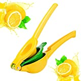 Lemon Squeezer - Lemon Juicer / Citrus Squeezer 2-in-1 Premium Quality Metal Citrus Juicer, Manual Lemon Lime Squeezer by Kaitsy