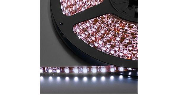 TIRA DE LEDS FLEXIBLE, 24 V MONACOR LEDS-5MPL/WS: Amazon.es ...
