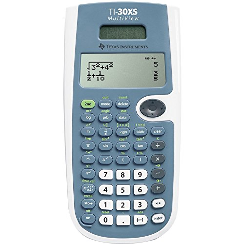 Texas-Instruments-TI-30XS-MultiView-Scientific-Calculator