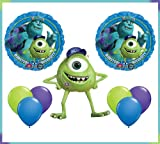 Monsters University Mike Jumbo Mylar Balloon Set Birthday Party Decor by Qualatex