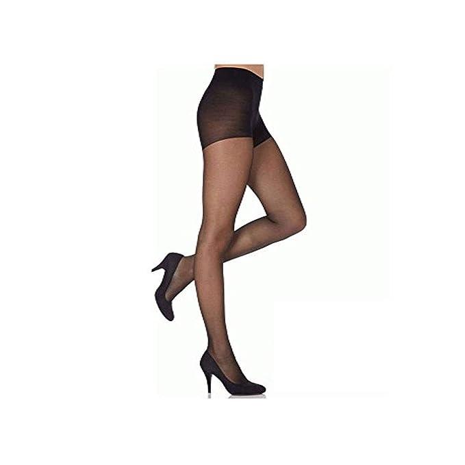 f0c8e2b71d2 Ladies Sheer Tights 20 Denier Pantyhose - Black - One Size  Amazon.co.uk   Clothing