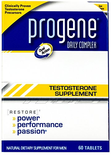 Progene 360ct Testosterone Supplement - Doctor Recommended with Clinically Proven Testosterone Precursors - Increase Levels for More Energy and Lean Muscle - Tribulus, Tongkat Ali, L-Arginine
