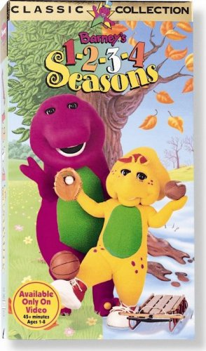 Barney's 1 2 3 4 Seasons [VHS] - Cervantes Series