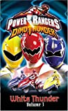 Power Rangers Dino Thunder - White Thunder (Vol. 3) [VHS]