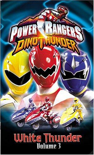 Power Rangers Dino Thunder - White Thunder (Vol. 3) [VHS]