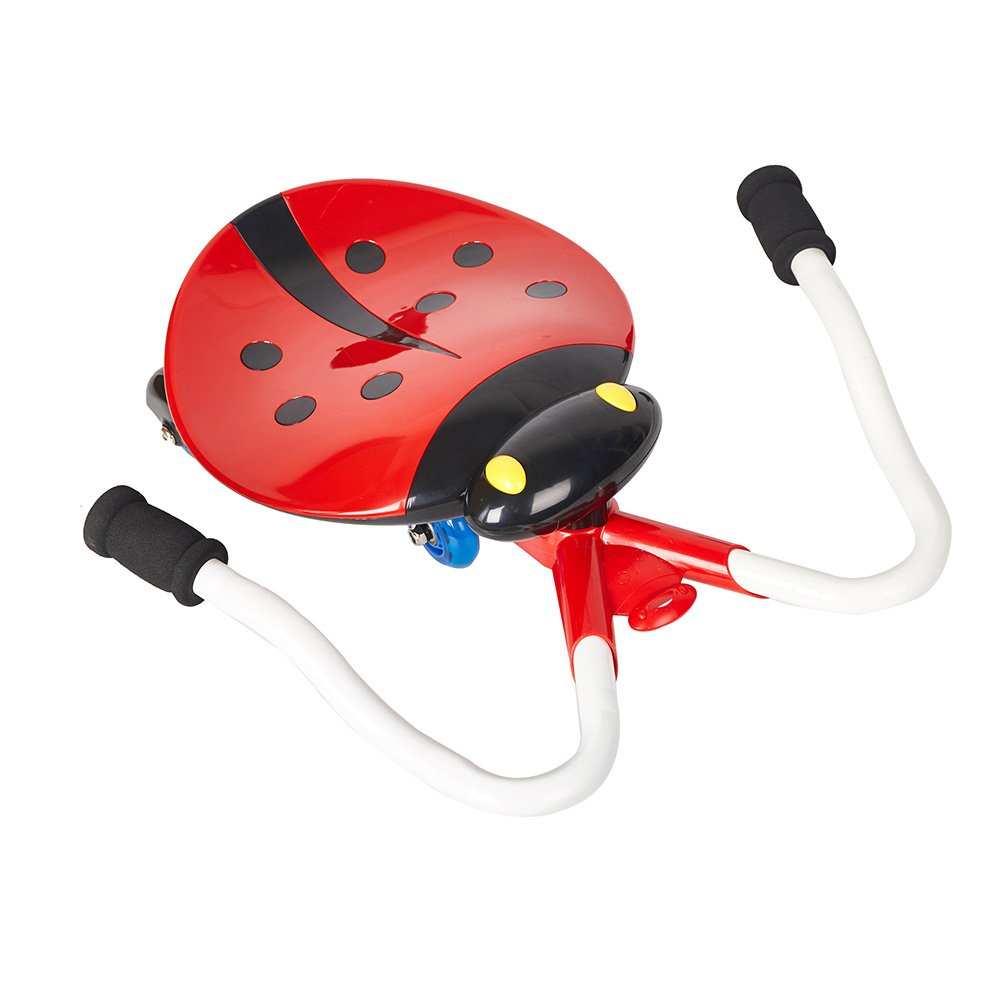 COLORTREE B/O Ride-on Slide Car with Cute Ladybug shape ,Music and Light ,Red Color by COLORTREE (Image #2)