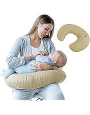 Sei Design Stillkissen ergonomisch | Lagerungskissen | Baby-Nest und Sitzhilfe mit hochwertigem 100% Baumwoll-Bezug. Schadstofffrei - nach ÖKO TEX Standard 100 Klasse 1
