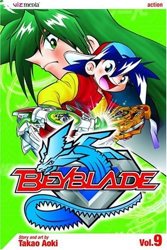Beyblade, Vol. 9 by VIZ Media LLC