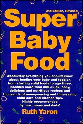 SUPER BABY FOOD RUTH YARON PDF DOWNLOAD