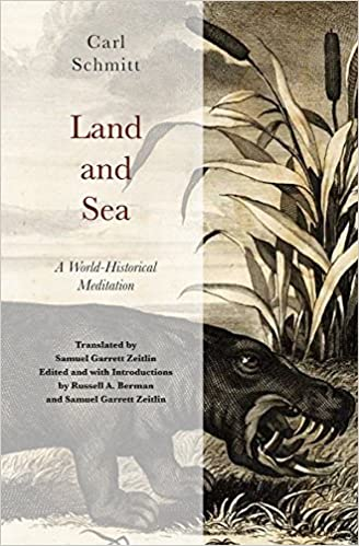 Image result for Land and sea : a world-historical meditation / Carl Schmitt ; translated by Samuel Garrett Zeitlin