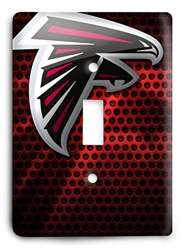 NFL Come Hard Falcons Light Switch Cover