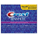 Crest 3D White Radiant Mint Whitening Toothpaste, 100 mL Triple Pack