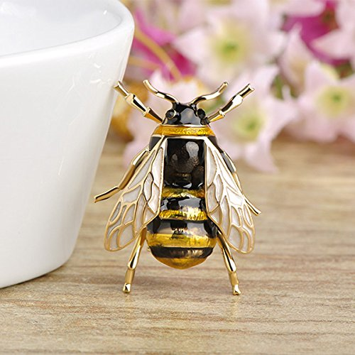 901b02628 TOOGOO Cute Bee Fly Insect Brooch Clothes Accessories Enamel ...