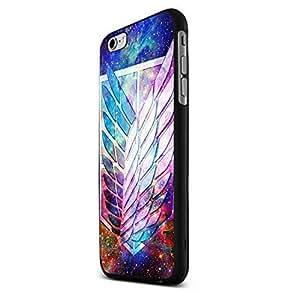 Nebula Galaxy Attack on Titan Custom Case for Iphone 5/5s/6/6 Plus (Black iPhone 6 plus)