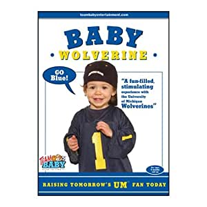 Michigan Wolverines Baby DVD