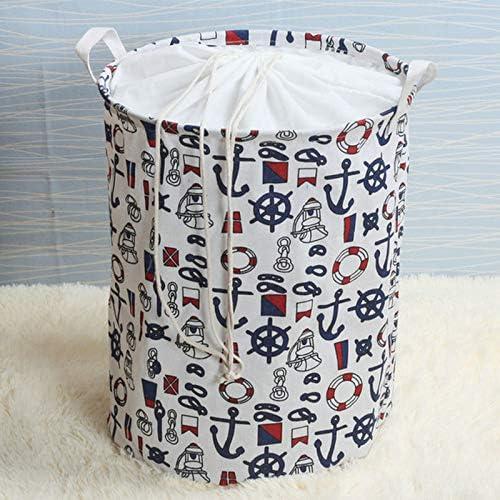 organizador lona almacenamiento para cestas juguetes ancla lavandería dormitorio