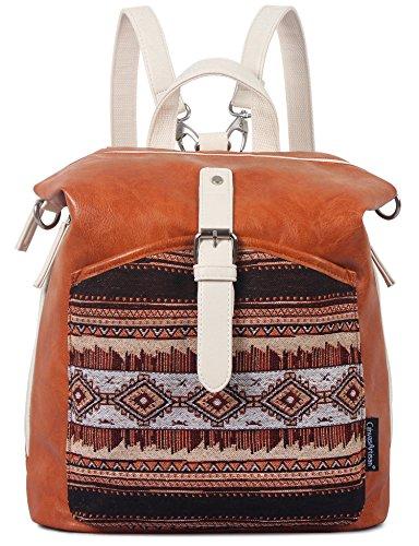 ArcEnCiel Backpack for Women PU Leather Girls