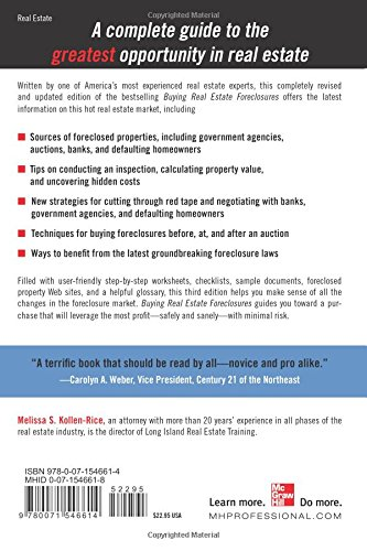 Counting Number worksheets future going to worksheets : BUYING REAL ESTATE FORECLOSURES 3/E: Melissa Kollen-Rice ...